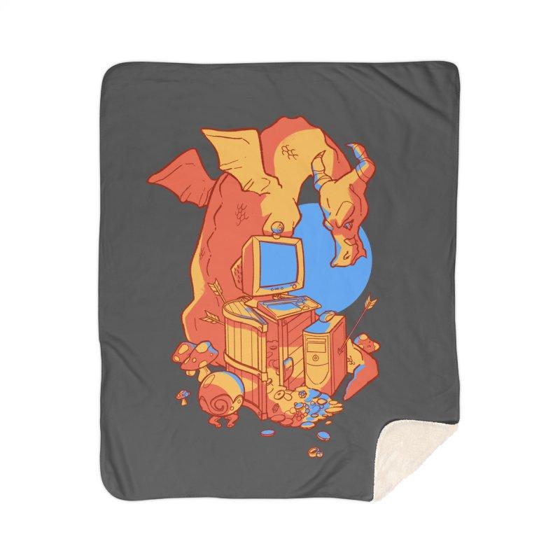 XP Home Sherpa Blanket Blanket by Kyle Smeallie's Design Store