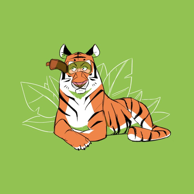 Eyes of the Tiger Men's T-Shirt by Kyle Smeallie's Design Store