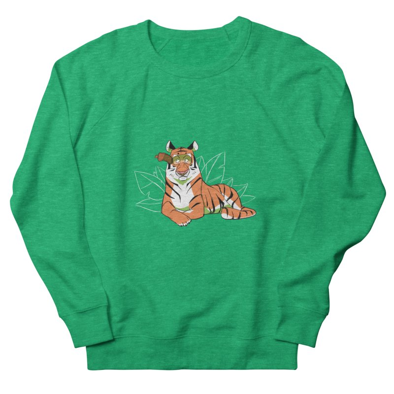 Eyes of the Tiger Men's Sweatshirt by Kyle Smeallie's Design Store