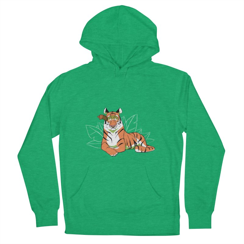 Eyes of the Tiger Men's Pullover Hoody by Kyle Smeallie's Design Store