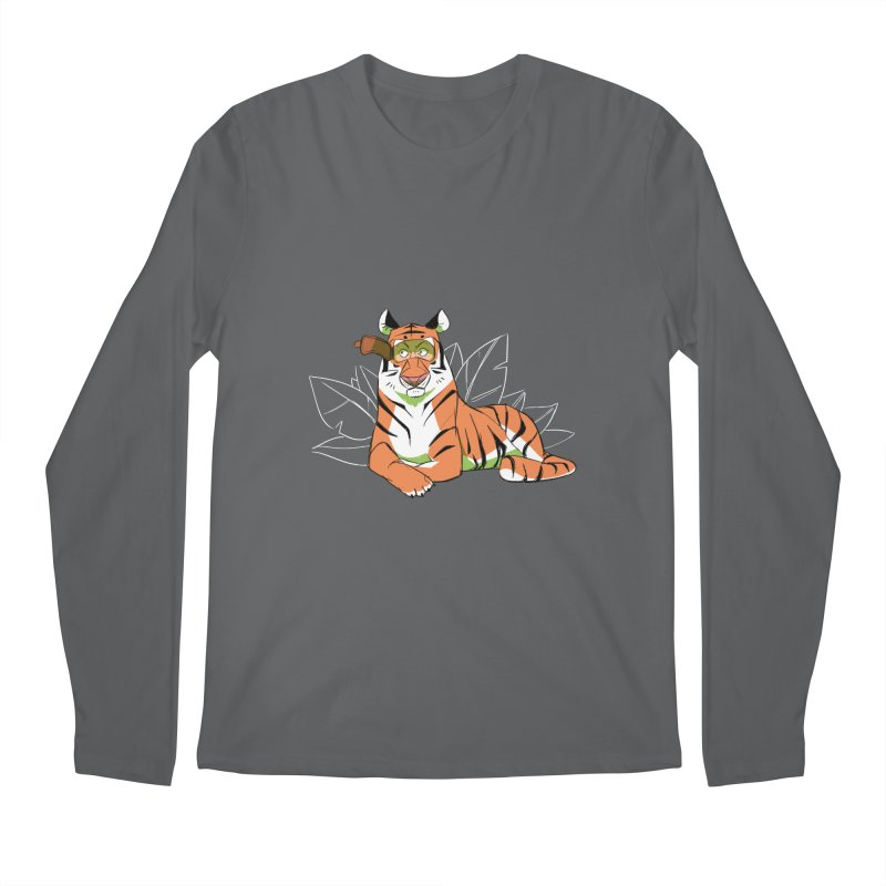 Eyes of the Tiger Men's Longsleeve T-Shirt by Kyle Smeallie's Design Store
