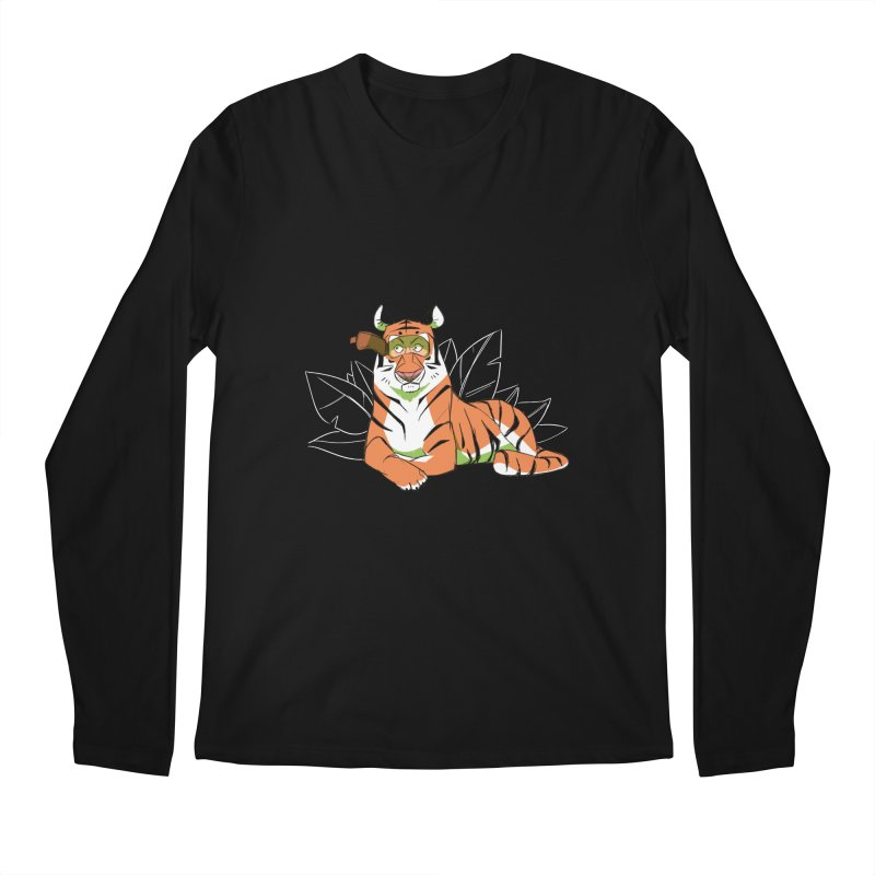 Eyes of the Tiger Men's Regular Longsleeve T-Shirt by Kyle Smeallie's Design Store
