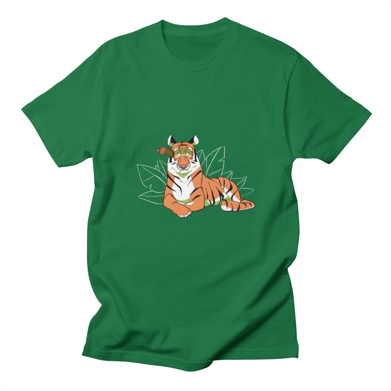 Eyes of the Tiger Women's Regular Unisex T-Shirt by Kyle Smeallie's Design Store