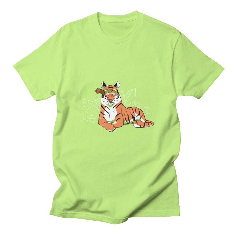 Eyes of the Tiger Women's Regular Unisex T-Shirt by Kyle Smeallie's Design Store