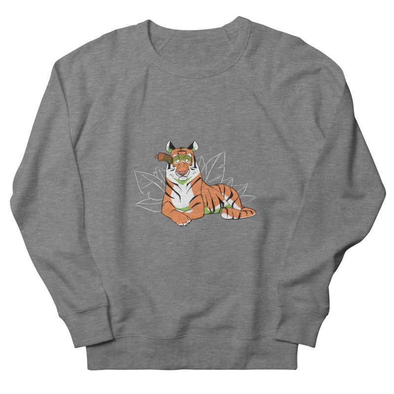 Eyes of the Tiger Women's French Terry Sweatshirt by Kyle Smeallie's Design Store