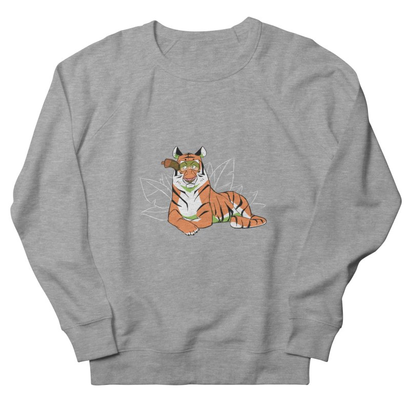 Eyes of the Tiger Women's Sweatshirt by Kyle Smeallie's Design Store