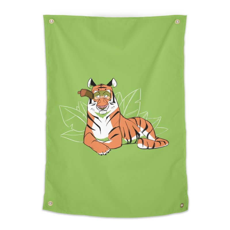Eyes of the Tiger Home Tapestry by Kyle Smeallie's Design Store