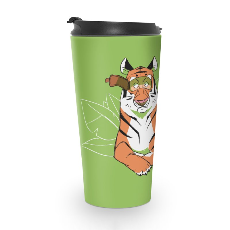 Eyes of the Tiger Accessories Travel Mug by Kyle Smeallie's Design Store