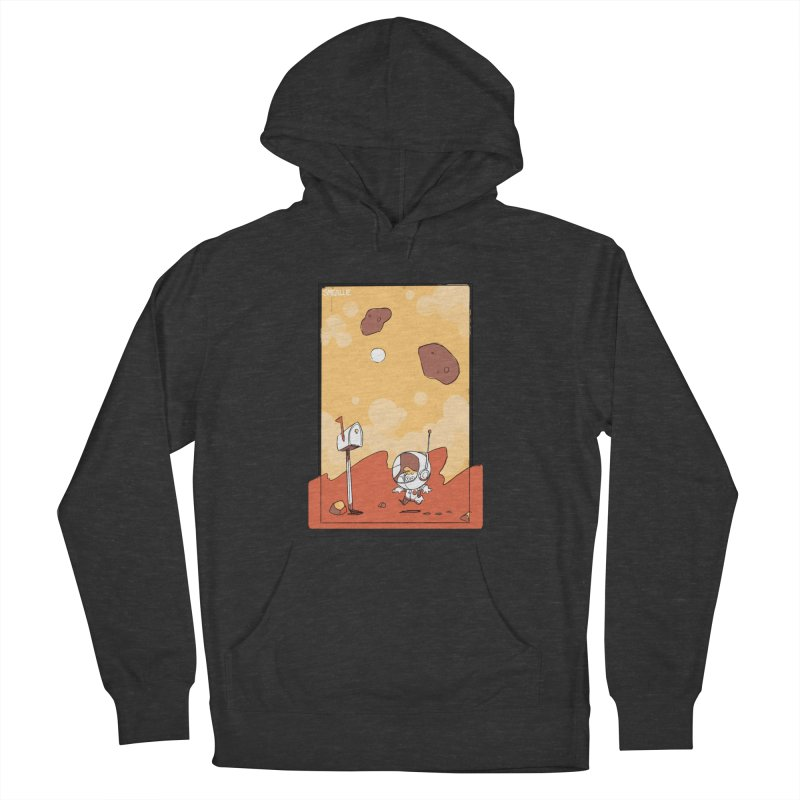 Lil Mister Mars Women's French Terry Pullover Hoody by Kyle Smeallie's Design Store
