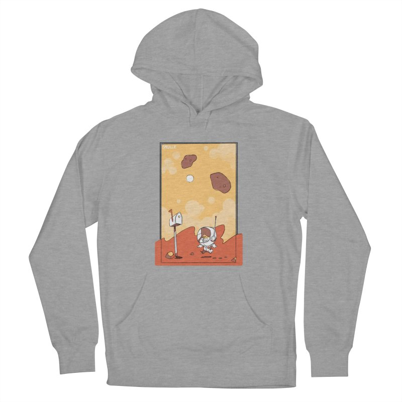 Lil Mister Mars Men's Pullover Hoody by Kyle Smeallie's Design Store