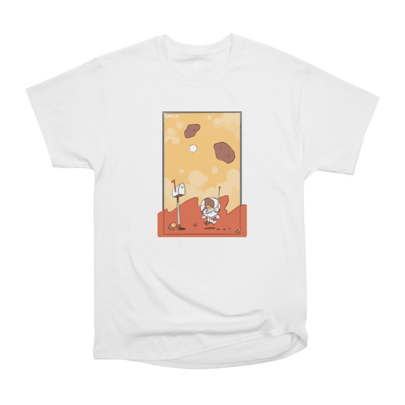 Lil Mister Mars Men's Heavyweight T-Shirt by Kyle Smeallie's Design Store