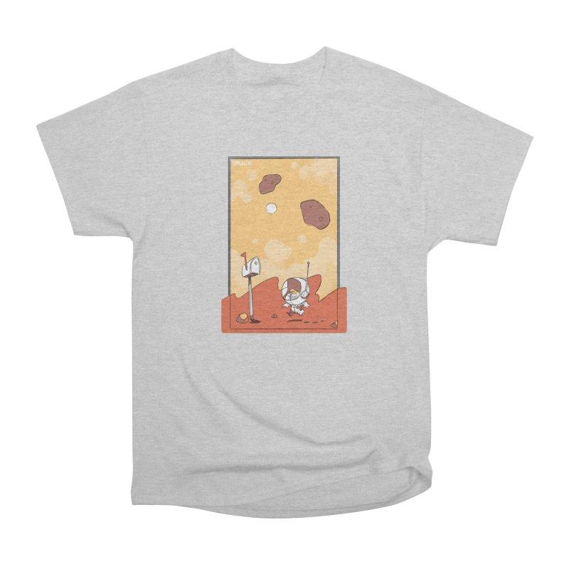 Lil Mister Mars Women's Heavyweight Unisex T-Shirt by Kyle Smeallie's Design Store