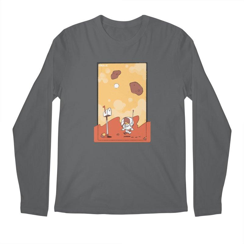 Lil Mister Mars Men's Longsleeve T-Shirt by Kyle Smeallie's Design Store