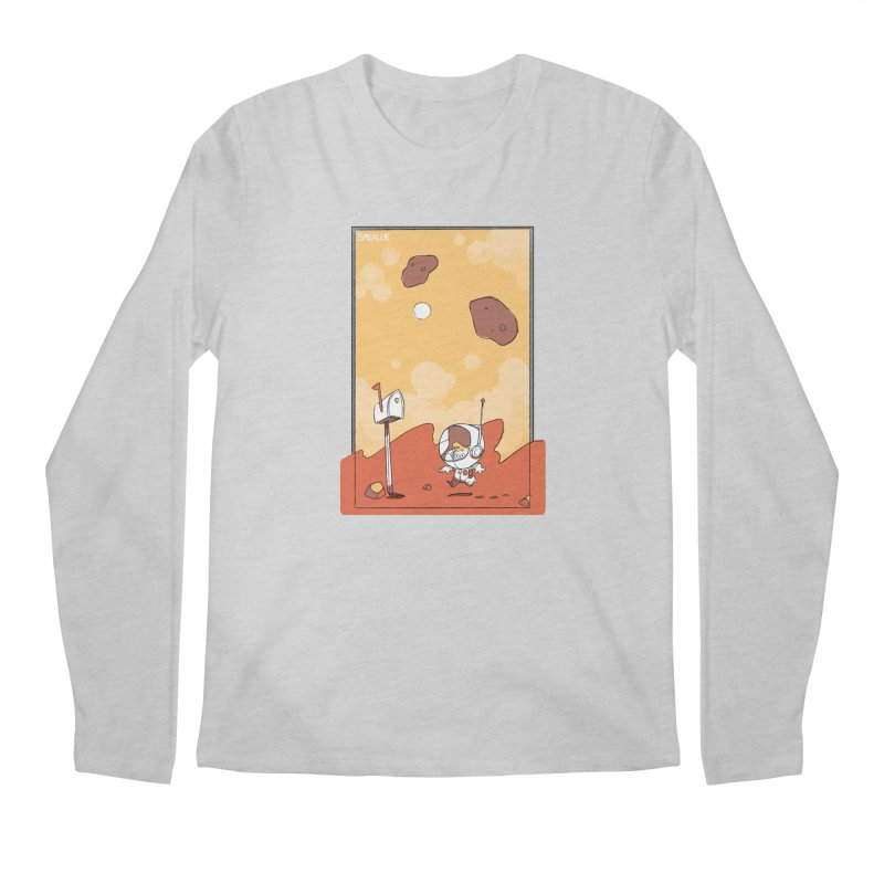 Lil Mister Mars Men's Regular Longsleeve T-Shirt by Kyle Smeallie's Design Store