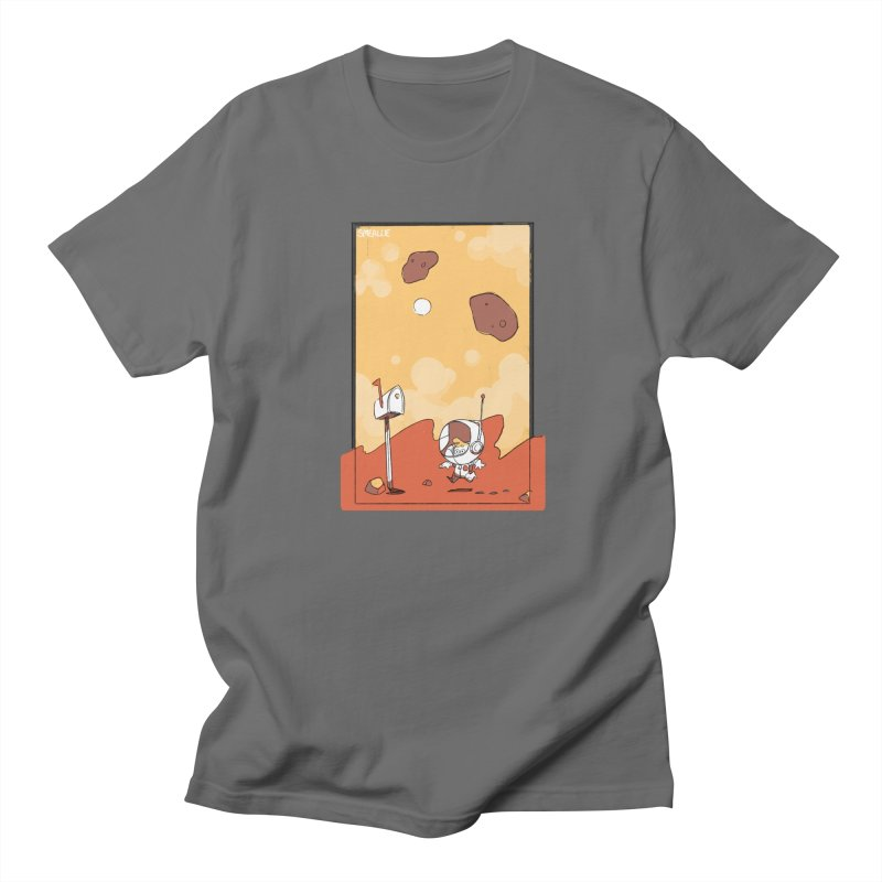 Lil Mister Mars Men's T-Shirt by Kyle Smeallie's Design Store