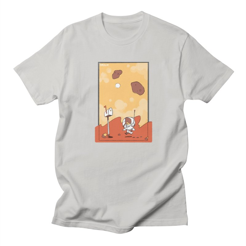 Lil Mister Mars Men's Regular T-Shirt by Kyle Smeallie's Design Store