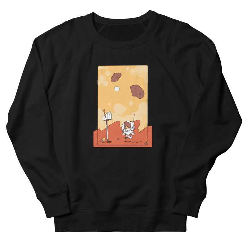 Lil Mister Mars Women's French Terry Sweatshirt by Kyle Smeallie's Design Store