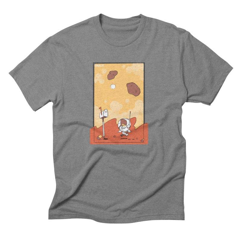 Lil Mister Mars Men's Triblend T-Shirt by Kyle Smeallie's Design Store
