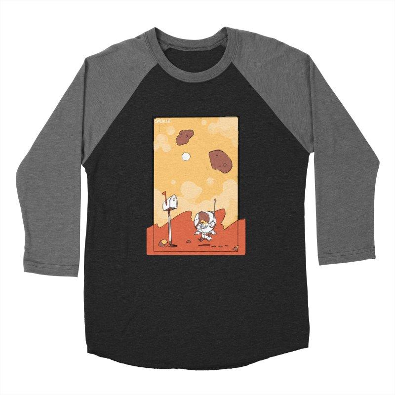 Lil Mister Mars Women's Baseball Triblend Longsleeve T-Shirt by Kyle Smeallie's Design Store