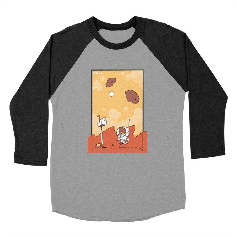 Lil Mister Mars Women's Baseball Triblend T-Shirt by Kyle Smeallie's Design Store