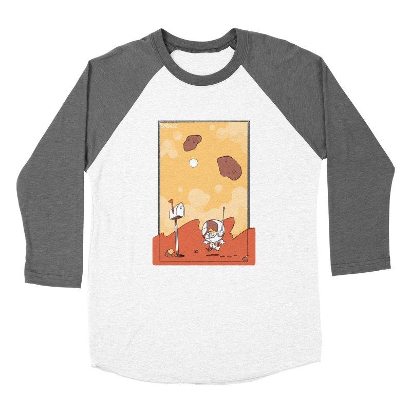 Lil Mister Mars Men's Baseball Triblend Longsleeve T-Shirt by Kyle Smeallie's Design Store