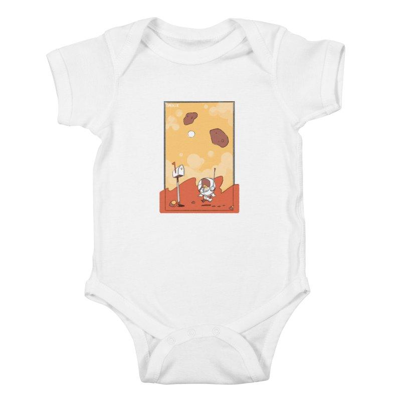 Lil Mister Mars Kids Baby Bodysuit by Kyle Smeallie's Design Store