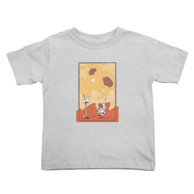 Lil Mister Mars Kids Toddler T-Shirt by Kyle Smeallie's Design Store