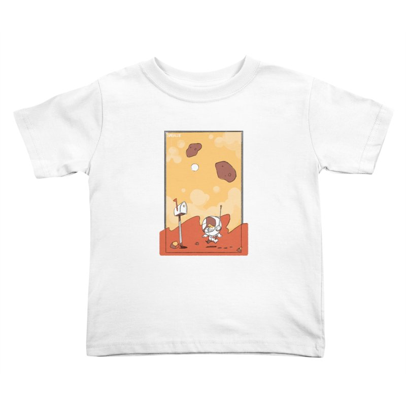 Lil Mister Mars Kids Toddler T-Shirt by Kyle Smeallie's Design Store