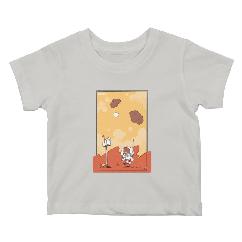 Lil Mister Mars Kids Baby T-Shirt by Kyle Smeallie's Design Store
