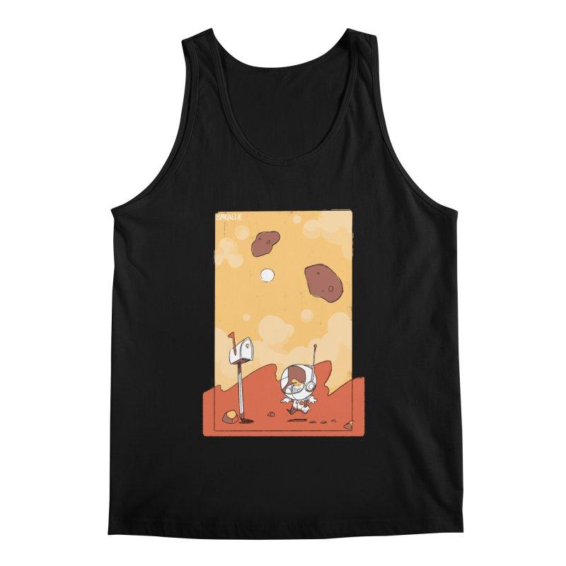 Lil Mister Mars Men's Regular Tank by Kyle Smeallie's Design Store