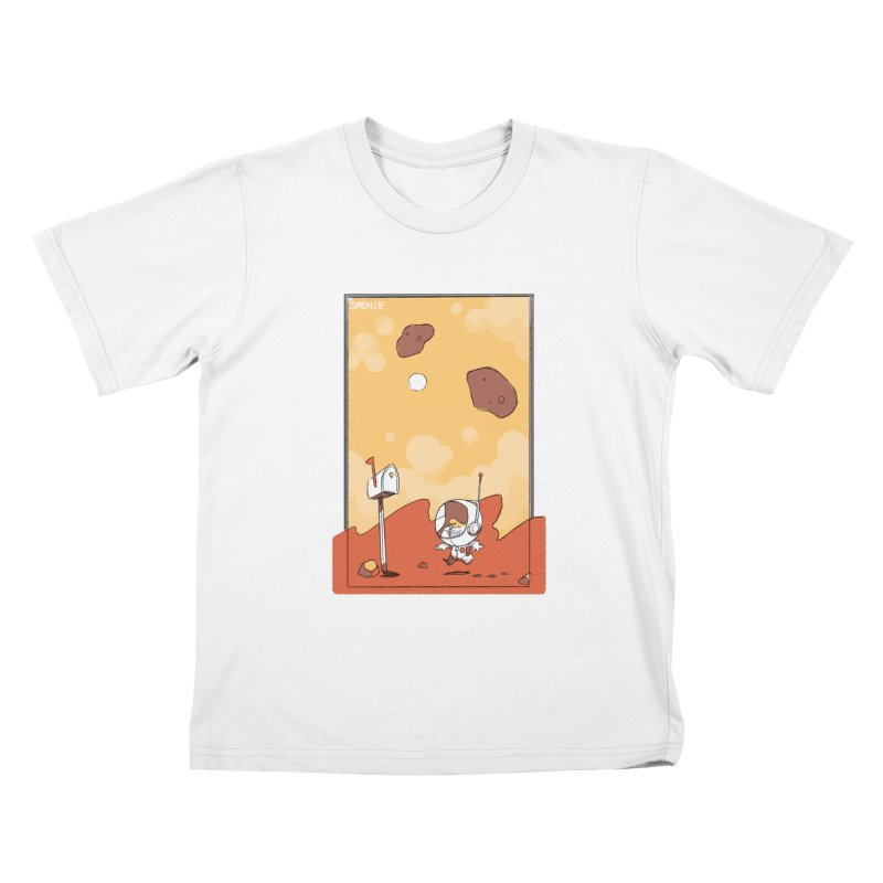 Lil Mister Mars Kids T-Shirt by Kyle Smeallie's Design Store