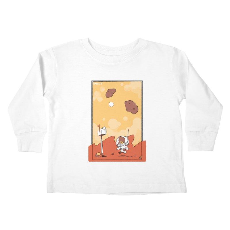 Lil Mister Mars Kids Toddler Longsleeve T-Shirt by Kyle Smeallie's Design Store