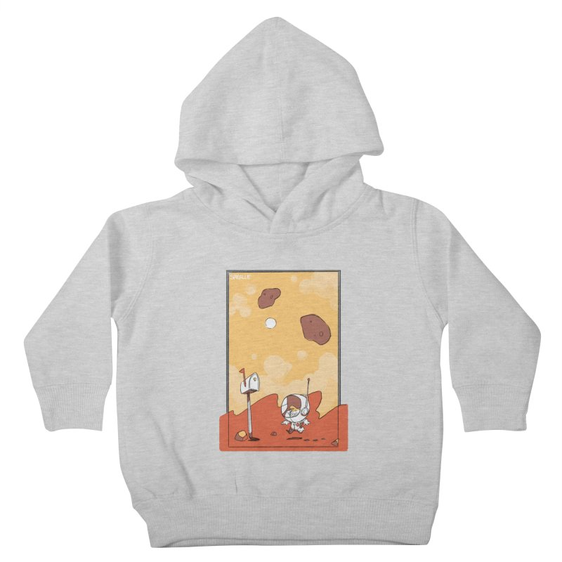 Lil Mister Mars Kids Toddler Pullover Hoody by Kyle Smeallie's Design Store