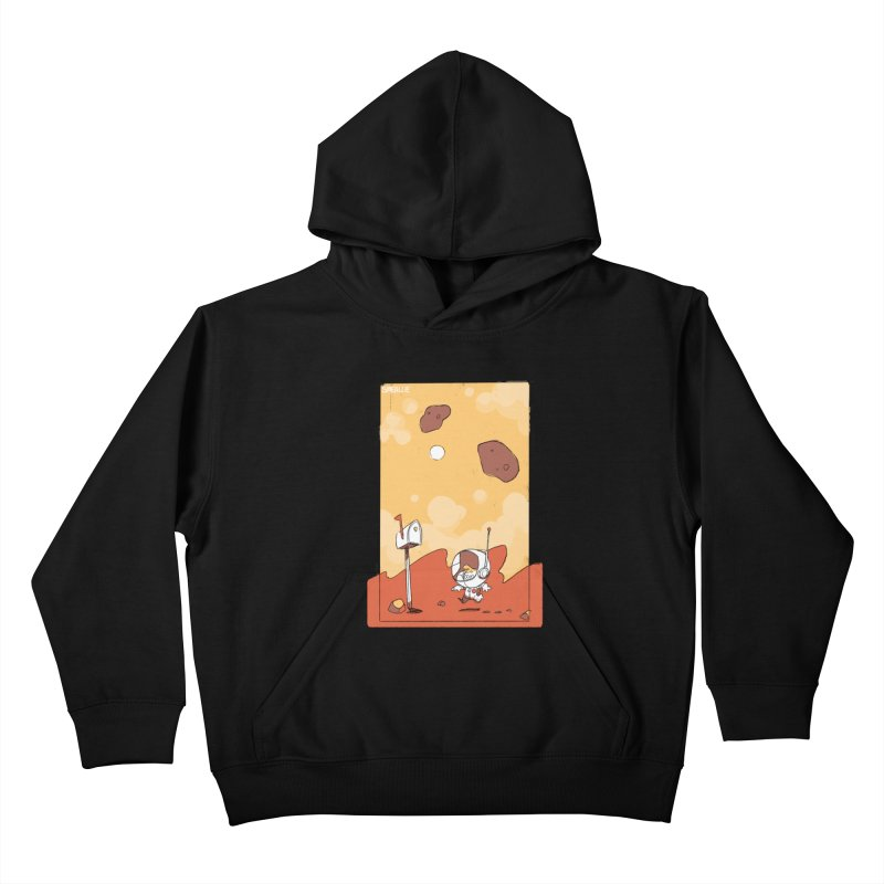 Lil Mister Mars Kids Pullover Hoody by Kyle Smeallie's Design Store