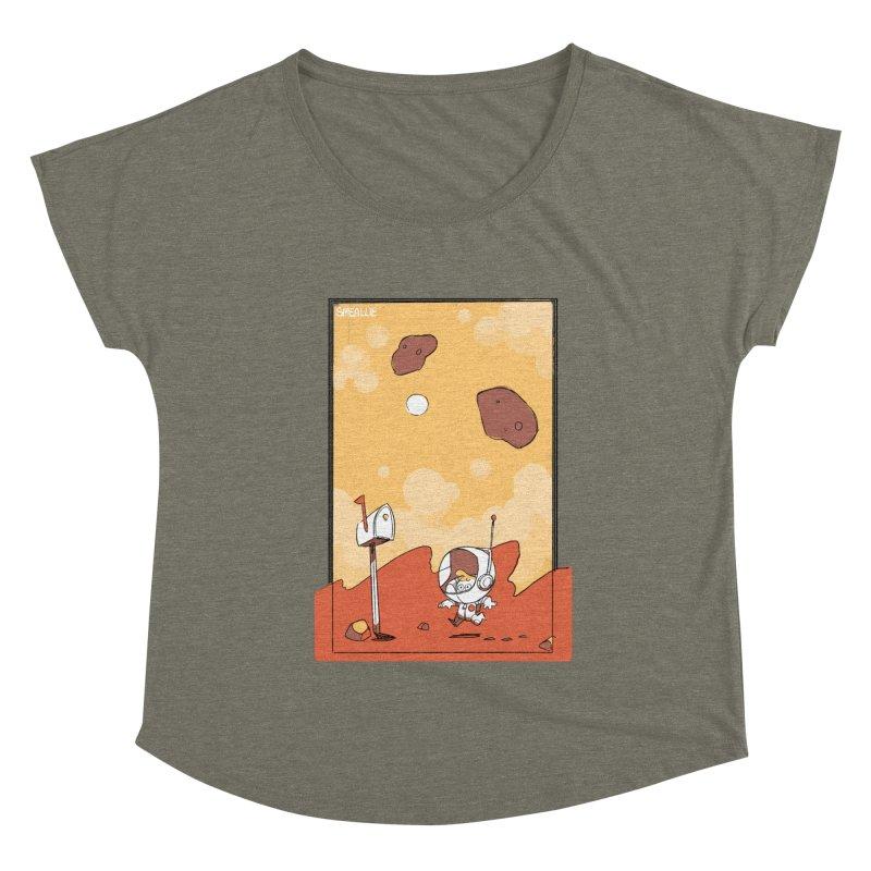 Lil Mister Mars Women's Dolman Scoop Neck by Kyle Smeallie's Design Store