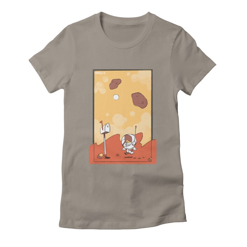 Lil Mister Mars Women's Fitted T-Shirt by Kyle Smeallie's Design Store