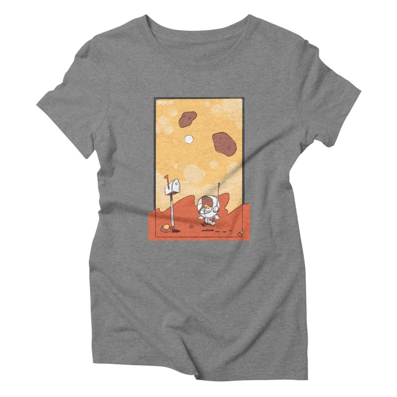 Lil Mister Mars Women's Triblend T-Shirt by Kyle Smeallie's Design Store