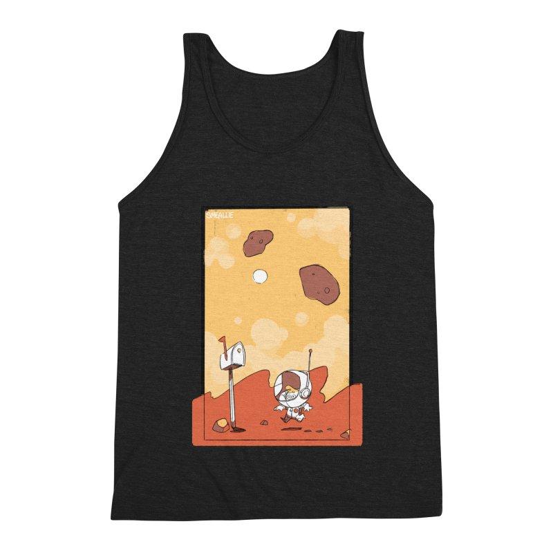 Lil Mister Mars Men's Triblend Tank by Kyle Smeallie's Design Store