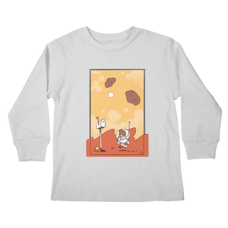 Lil Mister Mars Kids Longsleeve T-Shirt by Kyle Smeallie's Design Store