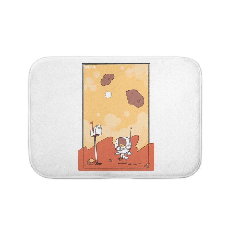 Lil Mister Mars Home Bath Mat by Kyle Smeallie's Design Store