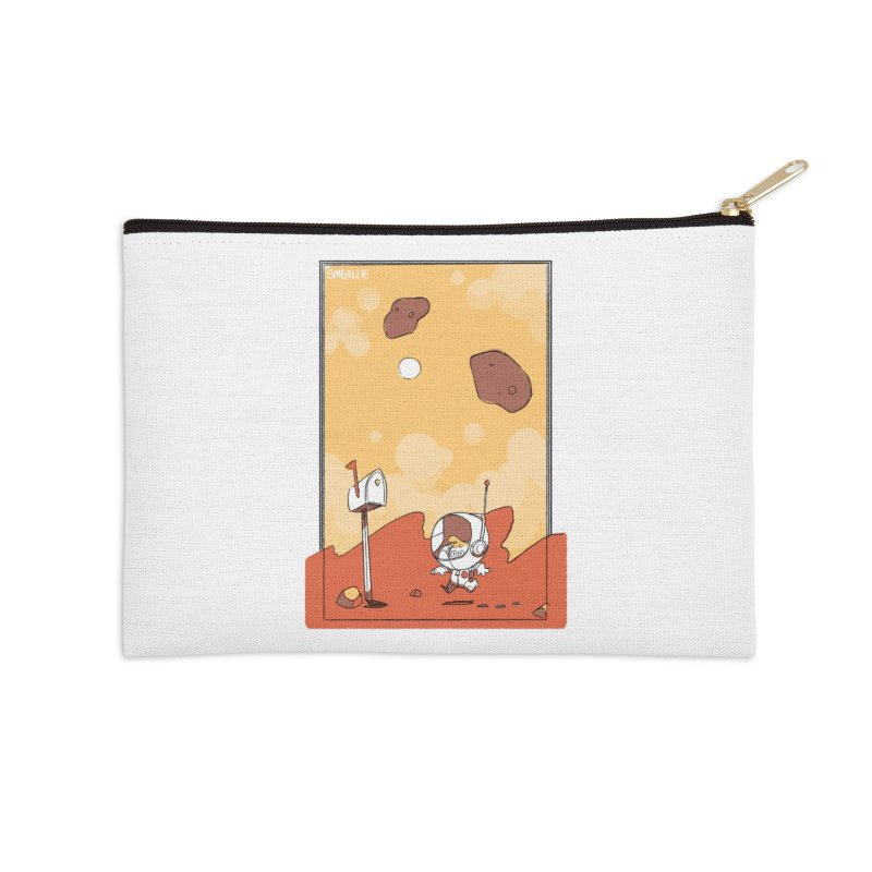Lil Mister Mars Accessories Zip Pouch by Kyle Smeallie's Design Store