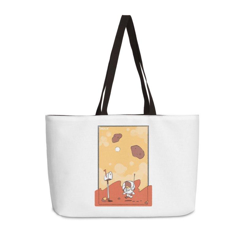 Lil Mister Mars Accessories Weekender Bag Bag by Kyle Smeallie's Design Store