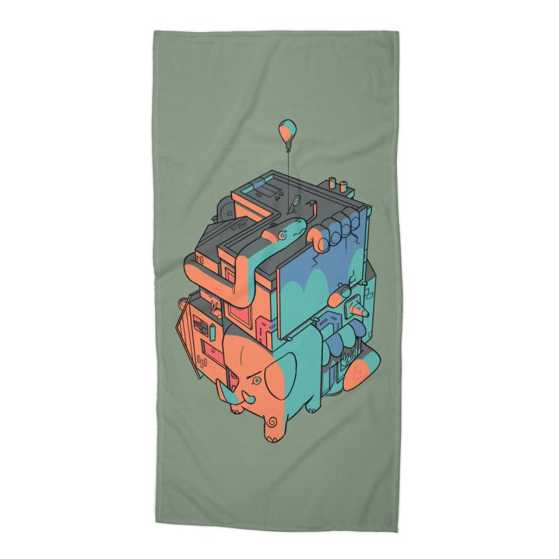 The Object Accessories Beach Towel by Kyle Smeallie's Design Store