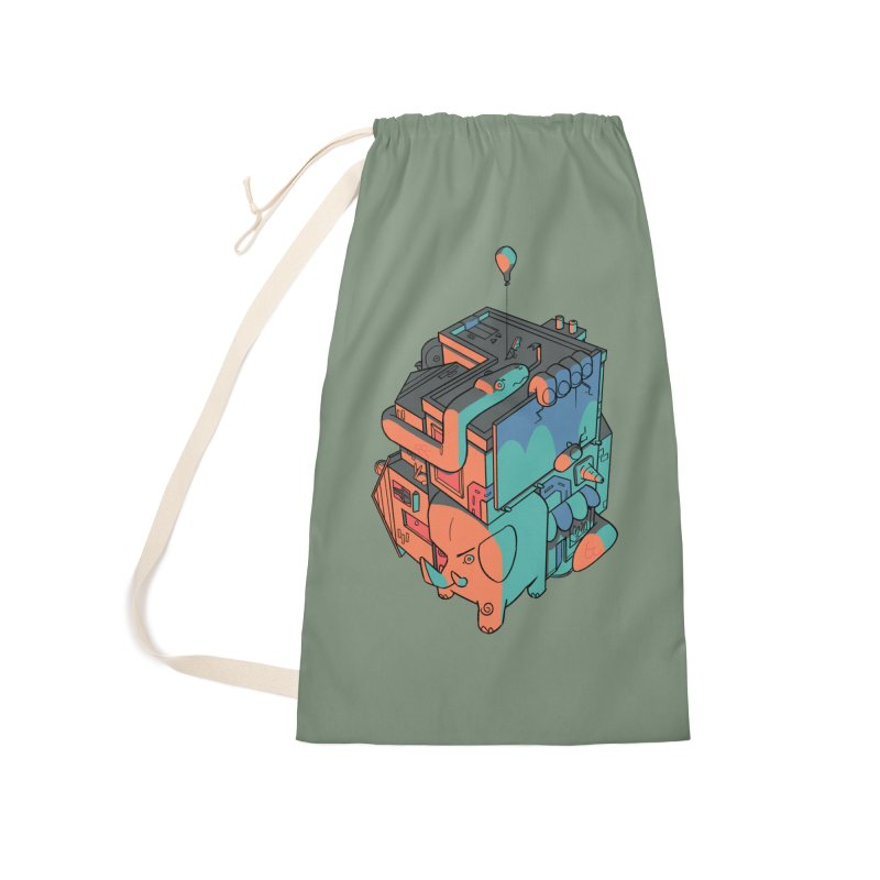 The Object Accessories Laundry Bag Bag by Kyle Smeallie's Design Store