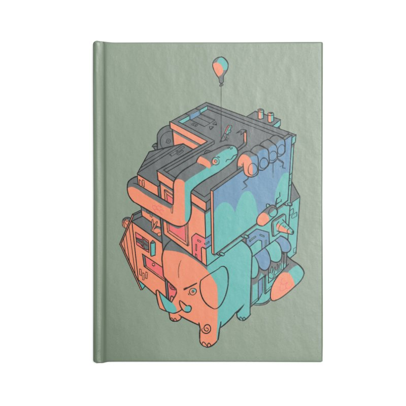 The Object Accessories Lined Journal Notebook by Kyle Smeallie's Design Store