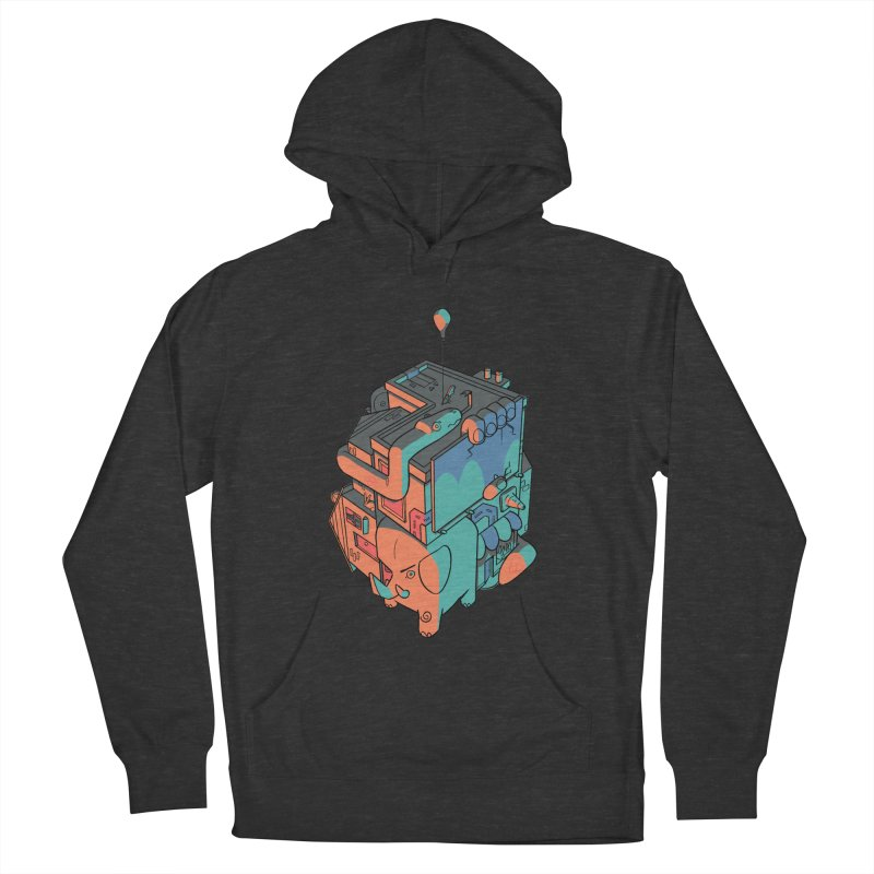 The Object Women's French Terry Pullover Hoody by Kyle Smeallie's Design Store