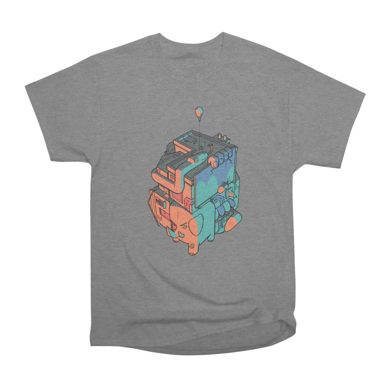 The Object Men's Heavyweight T-Shirt by Kyle Smeallie's Design Store