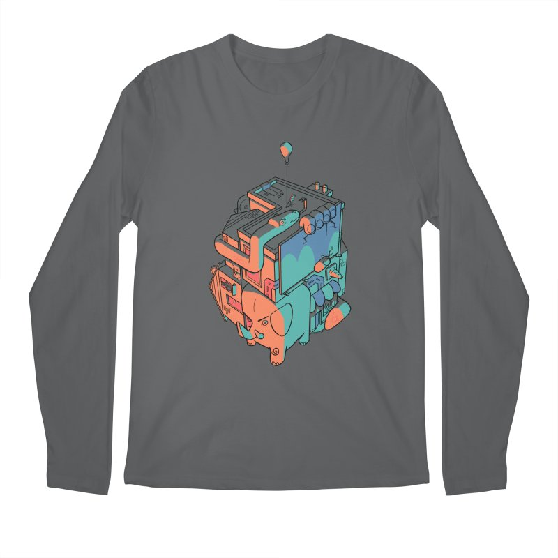 The Object Men's Regular Longsleeve T-Shirt by Kyle Smeallie's Design Store