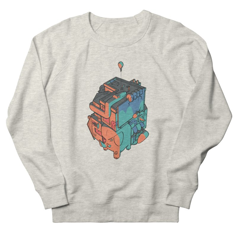 The Object Men's French Terry Sweatshirt by Kyle Smeallie's Design Store