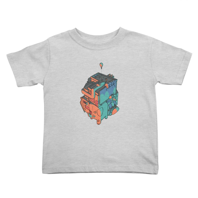 The Object Kids Toddler T-Shirt by Kyle Smeallie's Design Store
